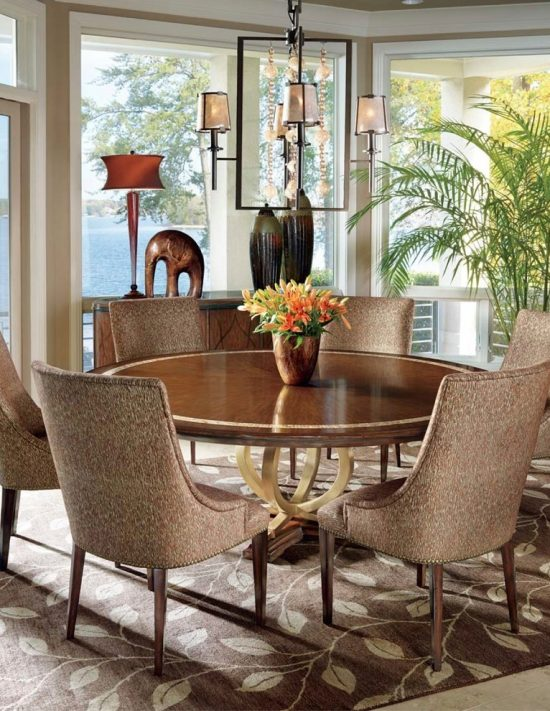 Tuscan dining room decor for warm elegant and outstanding for Dining room looks
