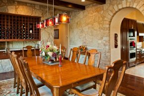 Tuscan dining room decor for warm, elegant and outstanding look