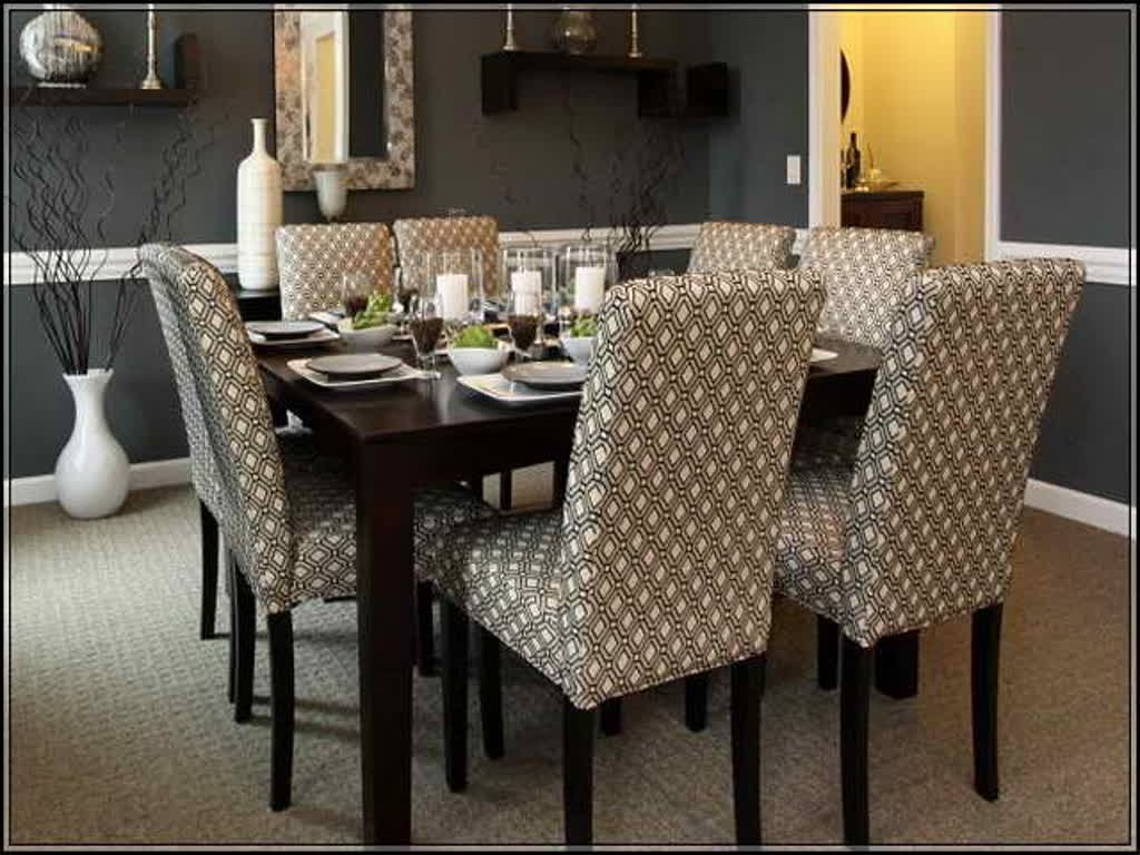 Upholstered dining chairs a touch of beauty and coziness for Dining room upholstered bench