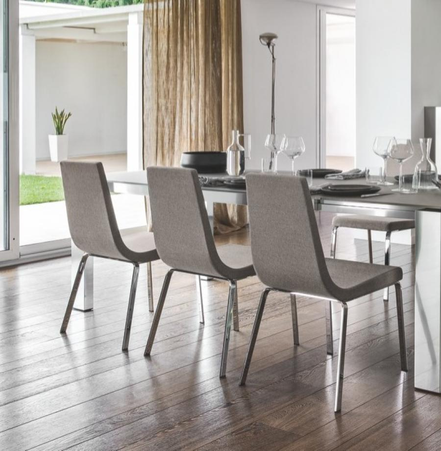 Upholstered dining chairs a touch of beauty and coziness in dining space 3 upholstered dining - Upholstered chairs for small spaces concept ...