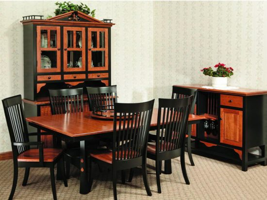 Amish Contemporary Dining Room Furniture How Modern Your Dining Room Can Be