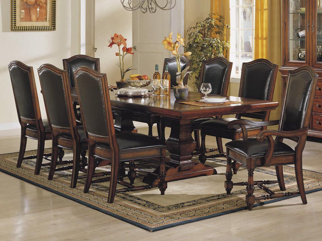 Dining room tables benefits of obtaining counter height for Dining table set decoration