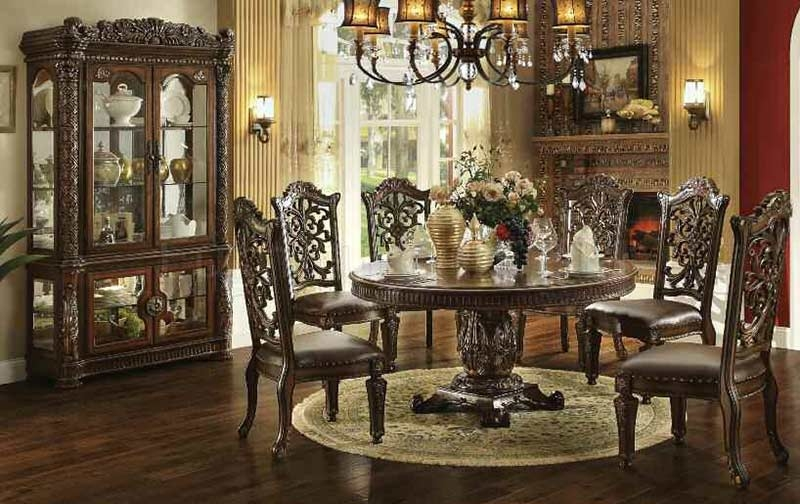Formal dining room sets improving how your dining room for Formal dining room collections