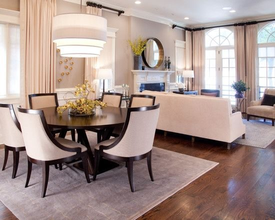 L Shaped Dining amp Living Room Decorating Think Cleverly