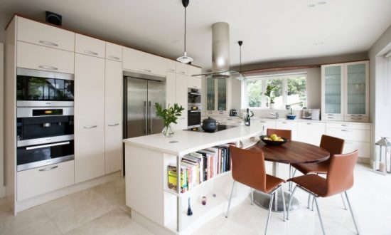 Modern Open Kitchen on the Dining Area – Creative Tips and Tricks to Make Your Kitchen Spacious