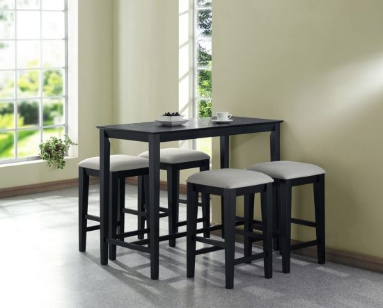 Small spaces dining room table chairs there is always - Dining table small space solutions concept ...