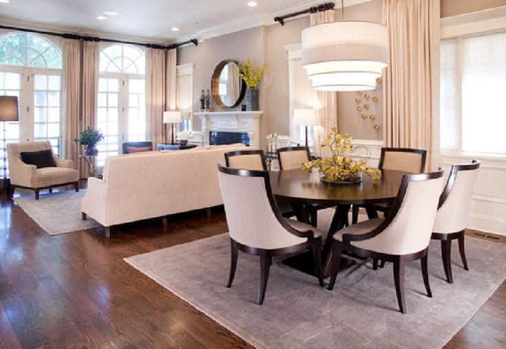 Living Room And Dining Room Decorating Ideas Part - 15: Dining-Living Are Decoration - Unrivaled Guide To Decorate A Dining-Living  Room - Dining Room Decor