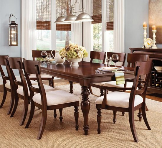 Dinning tables with different styles and shapes dining for Different dining room styles