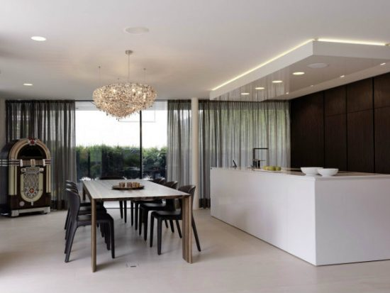 Break bread in beauty Modern dining room dining room designs for inspiration 10