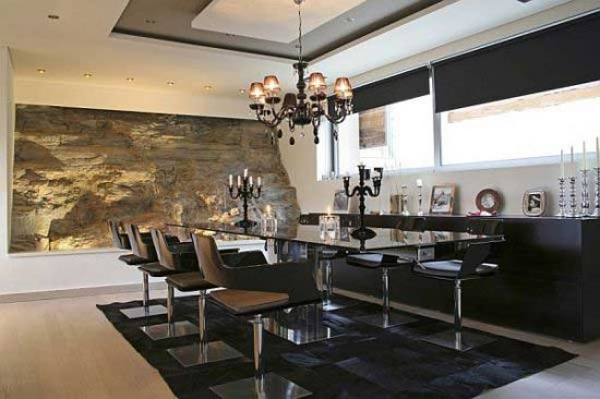 Break bread in beauty Modern dining room dining room designs for inspiration 11
