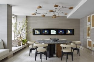 Break bread in beauty Modern dining room dining room designs for inspiration 9