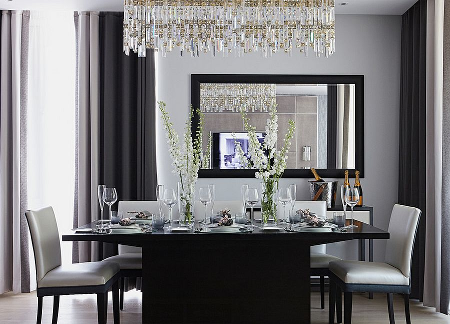 White Dining Room Ideas Part - 30: Breaking Bread In Beauty: Creative Contemporary Dining Room Furniture Ideas  - Dining Room Furniture, Dining Room Ideas