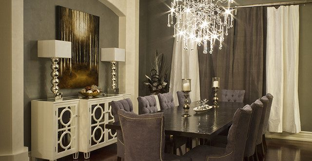 Creative tips to decorate contemporary dining room dining room decor - Modern dining rooms ideas and tips ...