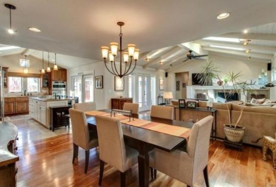 Ideas for Combing Kitchen and Dining Room