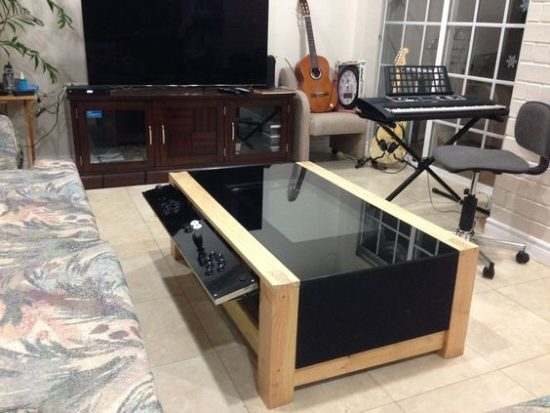 Why don't you try practical furniture (Dining and Coffee tables with build-in games)?
