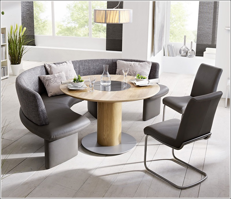 Circular Dining Table Set