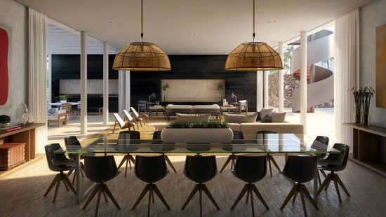 The way to Create a Modern Dining Room 9