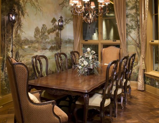 You knew how to furnish your dining room but you forgot? Here is a reminder