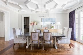 How to decorate an interior dining room with 2017 trends!