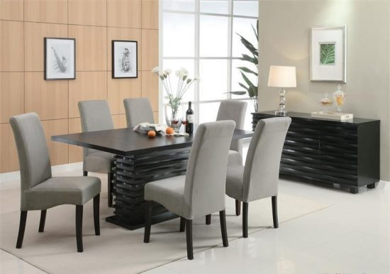 Draw 2017 dining room with a stunning dining table available today