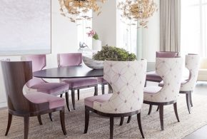 Draw 2018 dining room with a stunning dining table available today