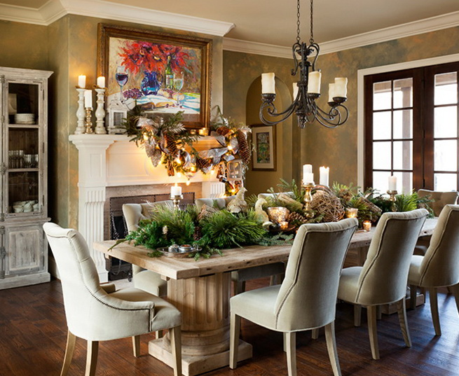 Decorate Dining Room Christmas 2021 Decor