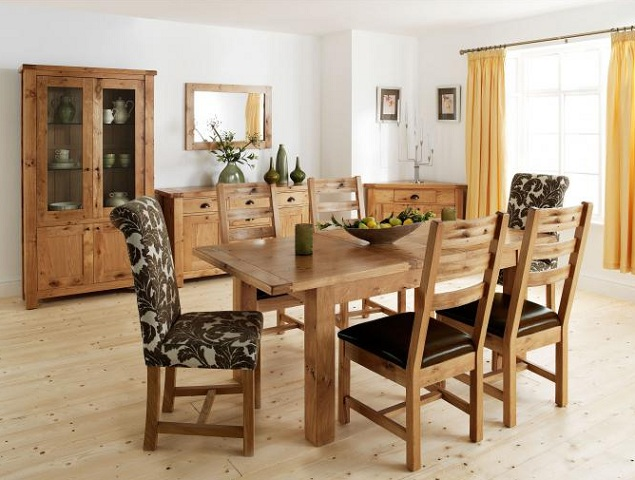 Oak Dining Room Set How To Go Traditional Elegantly