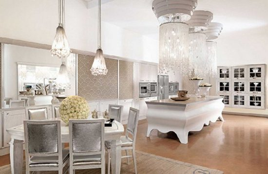 2017 Inspirational Ideas to decorate a glamorous dining room elegantly