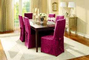 2018 dining room chair cover; a distinctive look and effective functionality