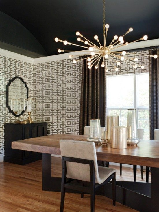 2017 dining room with bar height for a stunning look and functional use