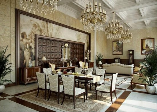 Accessorize your dining room as beautiful as you can in 2017