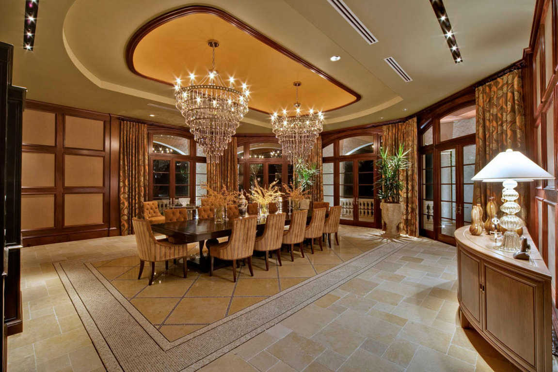 Designer dining room furniture for luxurious homes and charm look in