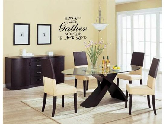Merveilleux Dining Room Wall Decorations U2013 How Wall Decorations Can Make Your Home  Better