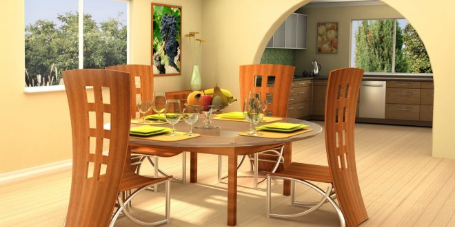 Go creative and pick unique dining room table and chairs for Creative dining room table ideas