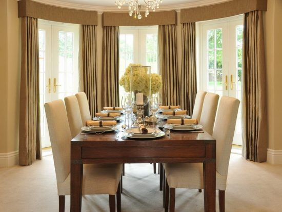 Mission style dining room; Timeless beauty and functionality inside your home