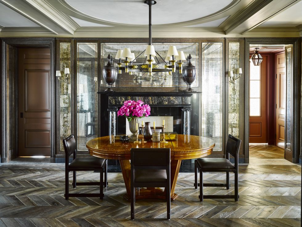 Modernize your dining area with 2018 modern trends - modern dining room