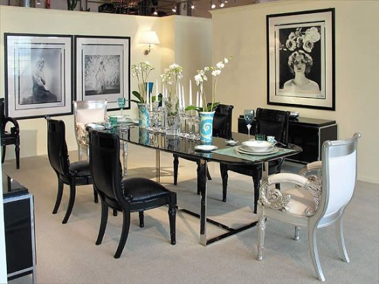 2017 Contemporary dining room décor; absolute beauty and elegance
