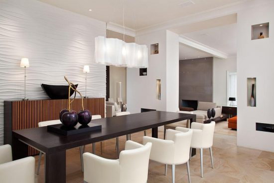 Beautify your dining space with 2017 fashionable modern dining room furniture