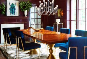 Beautify your dining space with 2018 fashionable modern dining room furniture