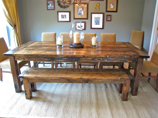 Farm Style Dining Table – Never Miss an Online Sale!