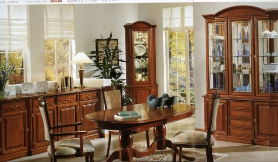 Italian dining room furniture; timeless beauty with significant unique style