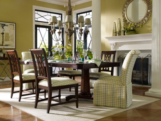 Tuscan dining room décor for warm, elegant and outstanding look
