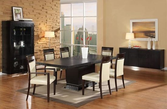 Amish Contemporary Dining Room Furniture – How Modern Your Dining Room Can Be!