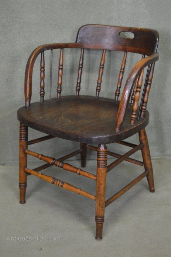 Captains Chair Nothing More Special Than Seafaring Style - Captains Chair Antique - Image Antique And Candle Victimassist.Org