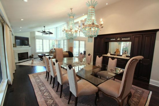 L Shaped Dining Living Room Decorating Think Cleverly Dining Room
