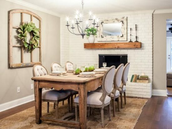 Dining Room Update – Affordable and Easy Ideas to Update your Dining Room