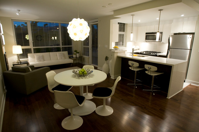 Dining Table In Living Rooms U2013 Brilliant Ideas For A Multifunctional Living  Room